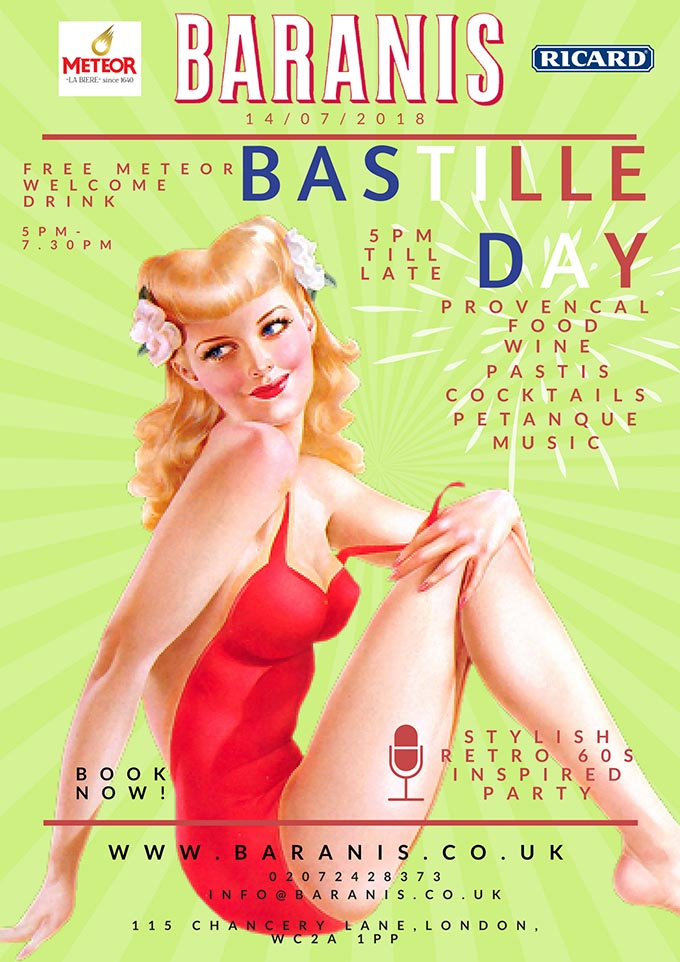 BASTILLE DAY AT BARANIS !